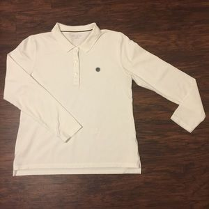 Tory Sport Performance Pique Polo Long Sleeve XL